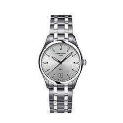 Certina C0224101103100 Ds 4 Gent Watch Silver 38mm