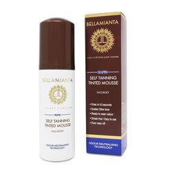 Bellamianta Rapid Self Tanning Tinted Mousse  150ml