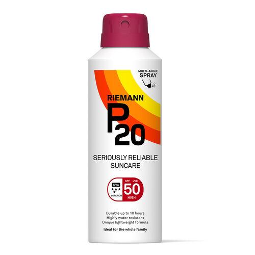 P20 P20 Continuous Spray Spf50  150ml