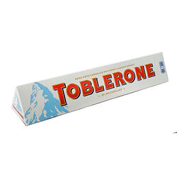 Toblerone White Chocolate Tube 360g