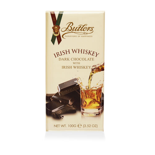 Butlers 100g Dark Chocolate Irish Whiskey Bar