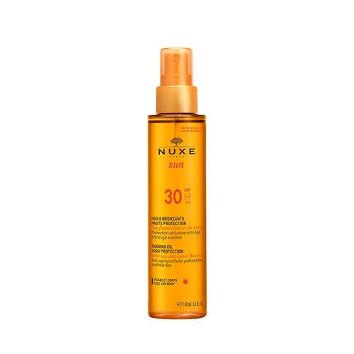 Nuxe Nuxe Sun  Tanning Oil Face & Body Spf 30 150ml
