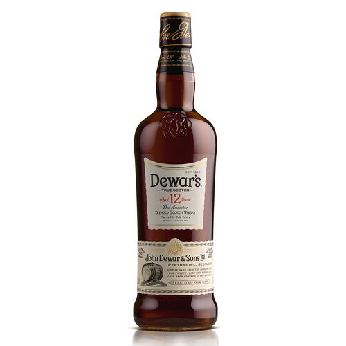 Dewar's 12 Year Old Scotch Whisky  1L