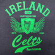 Traditional Craft Kids Navy Celtic Wings Kids T-Shirt  9/10