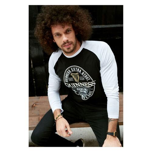 Guinness  Label Long Sleeve T-Shirt