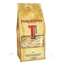 Toblerone Tiny Milk Chocolate  Mono Bag Gold 272g