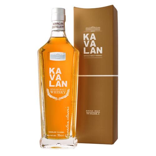Kavalan Single Malt 40%, 70cl - Taiwanese Single Malt