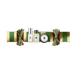 Jo Malone London Christmas Cracker Green & Gold Stripes