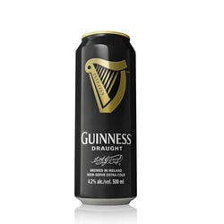 Guinness Draught Stout Beer Can  500ml