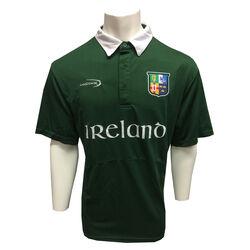Irish Memories Bottle Green Performance Rugby Top