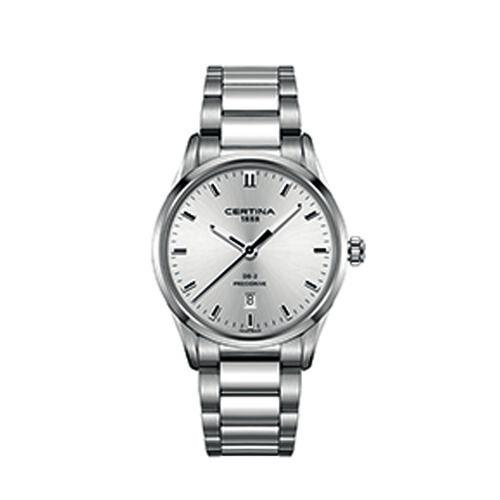 Certina C0244101103120 Ds 2 Gent Watch Silver 40mm