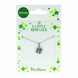 Clover Clover Necklace - Diamonte Clover