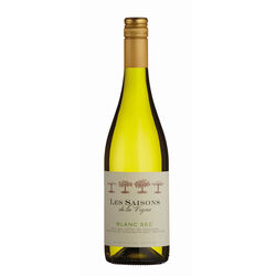 Les Saisons Les Saisons de la Vigne  White Dry Wine 75cl