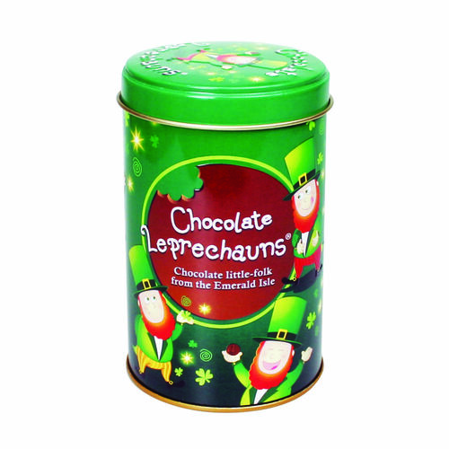 Souvenir Chocolate Leprechaun in a Tin