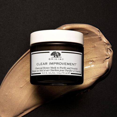 Origins Clear Improvement  Charcoal Honey Mask 75ml
