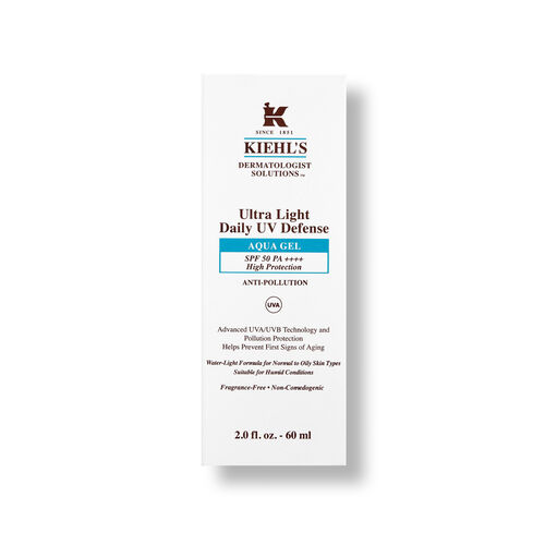 Kiehls Ultra Light Daily UV Defence Aqua Gel SPF 50 PA++++ 60ml