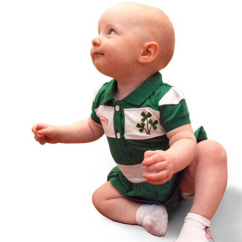 Lansdowne Kids Apple Green / Overall Shamrock Pattern Kids Cap