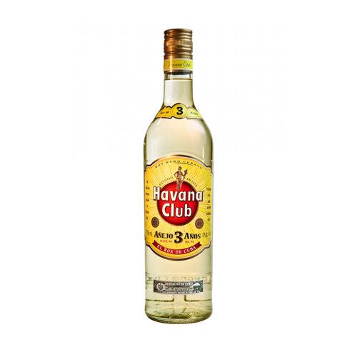 Havana Club Club Rum  Cuba 3 Yo White 70cl