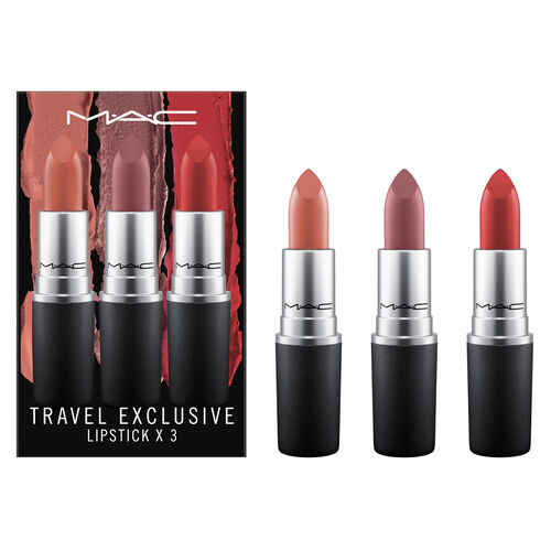 MAC Lipstick x 3 : Light