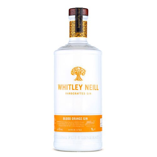 Whitley Handcrafted Blood Orange Gin  1L