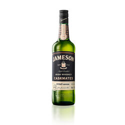 Jameson Irish Whiskey  Caskmates Stout 7ccl