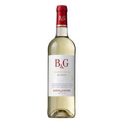 B&G Chardonnay Reserve Varietals White Wine 18.7cl