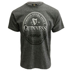 Guinness Guinness Black Grindle T-Shirt With Lable Stamp