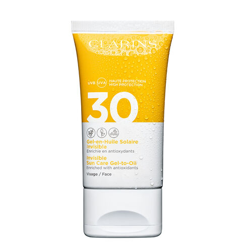Clarins Invisible Sun Care Gel-To-Oil Spf30 50ml