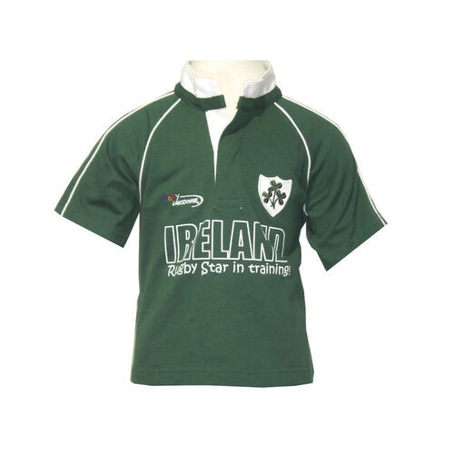 Lansdowne Kids Ireland Green Rugby Baby T-Shirt 1-2 Years
