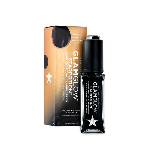 GlamGlow Starpotion  Charcoal Clarifying Oil 30ml