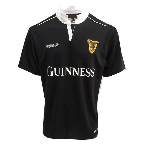 Guinness Guinness Black White Performance Rugby Top