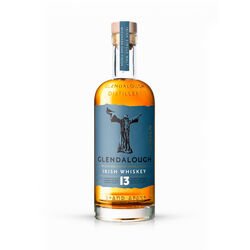 Glendalough 13yo Mizunara Cask Single Malt Bourbon barrel aged. Mizunara finished. 70CL