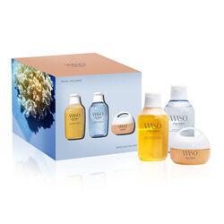 Shiseido Waso Skin Diet set Cleanser & Lotion & Cream