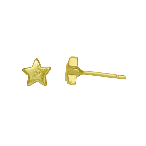 Juvi Designs Lucky Star Earrings Gold  One Size