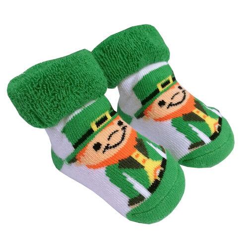 Traditional Craft Kids Leprechaun Baby Socks