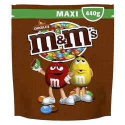 M&M Chocolate Maxi Pouch  440g