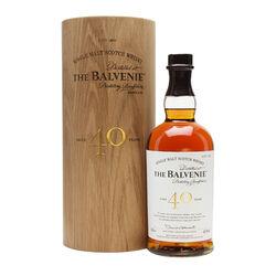 The Balvenie Balvenie 40 Year Old Single Malt Speyside Scotch Whisky 70cl