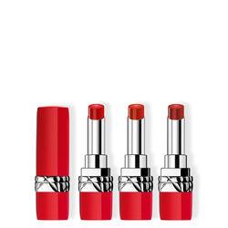 Dior Trio Ultra Rouge  #999, #641, #436