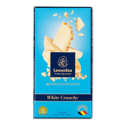 Leonidas White Chocolate Puffed Rice Tablet 100g