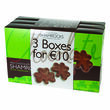 Irish Confectionary Chocolate Shamrock Multi-Pack 3x125g