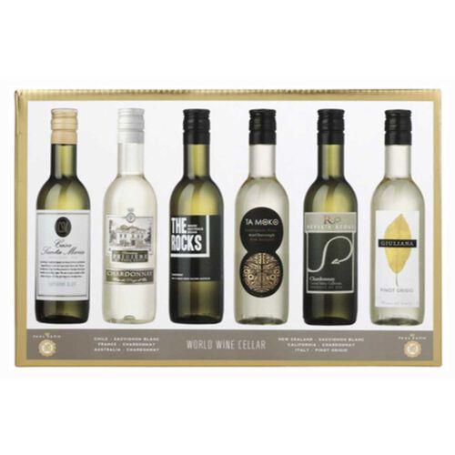 World Wine Cellars Gift Set White Wine 6x 18.7cl