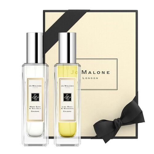 Jo Malone London Wood Sage & Sea Salt  + Lime Basil & Mandarin  Duo Cologne 30ml