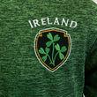 Irish Memories Irish Memories Green And Black Kids Performance T-Shirt  3/4