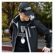 Guinness Black 6 Nations Rugby Tshirt  L