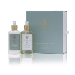 Rathborne  Wild Mint, Watercress and Thyme Luxury Wash and Lotion Gift Set