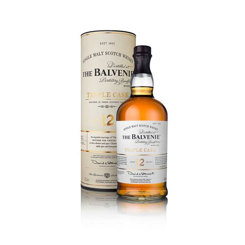 The Balvenie Triple Cask 12 Year Old Scotch Whisky 1 Litre