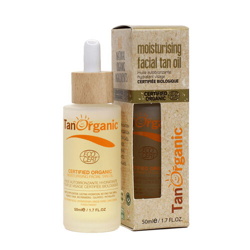 TanOrganic Moisturising Facial Tan Oil 50ml