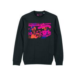 Jill & Gill Black Obsessive Sweater S