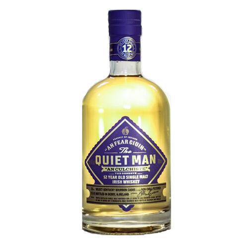 The Quiet Man 12 Year Old Single Malt Irish Whiskey  70cl