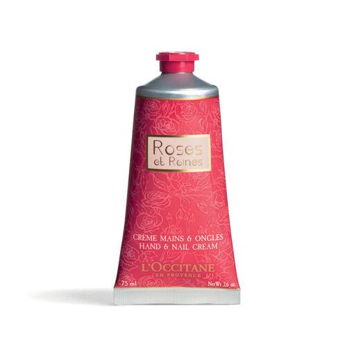 L'Occitane Roses & Reines  Hand & Nail Cream 75ml